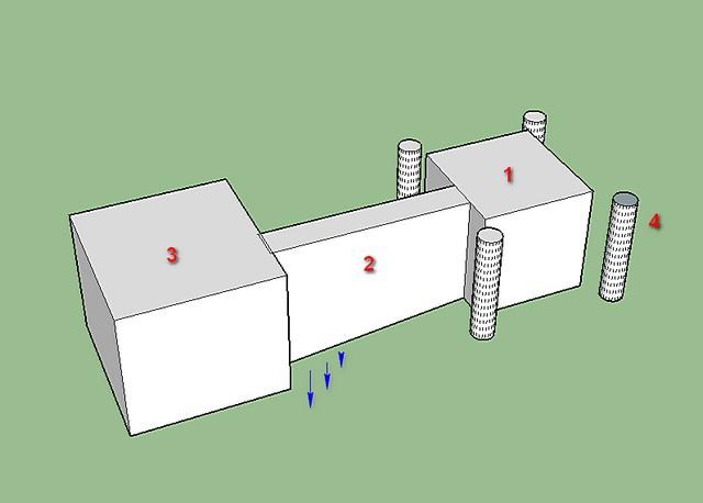 Подготовка дренажной системы на месте установки летнего душа