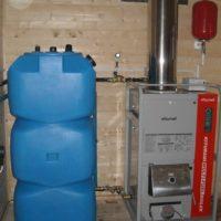 Калькулятор потребления жидкого топлива для отопления