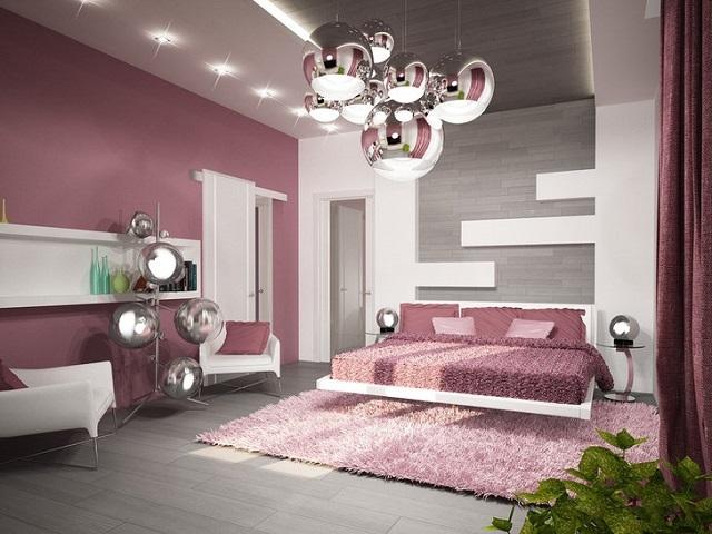 Для стиля хай-тек оптимальным решением видятся встроенные светильники и плафоны с выраженным металлическим блеском