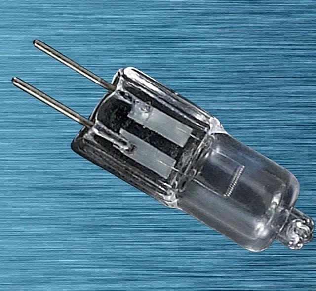 Галогеновая лампа с цоколем GU6,35 и мощностью, эквивалентной лампе накаливания в 50 Вт