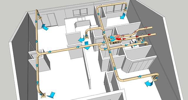 Правильная вентиляция в частном доме своими руками: система и виды