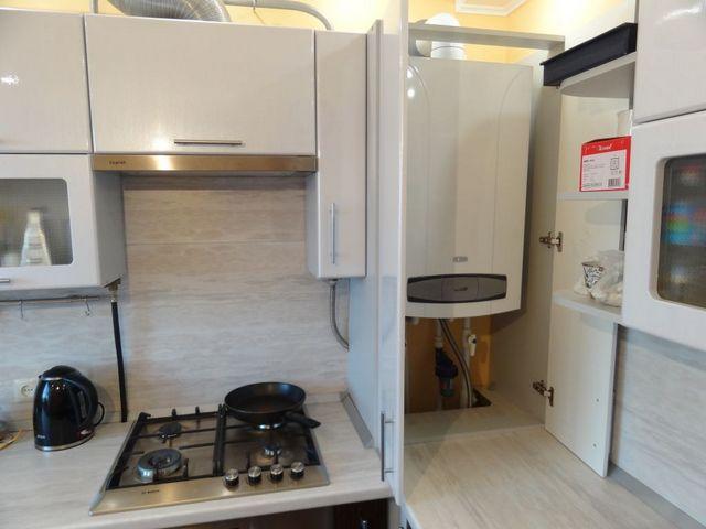 По всем соображениям именно кухня становится оптимальным, а очень часто – и попросту единственно возможным вариантом размещения газового отопительного котла