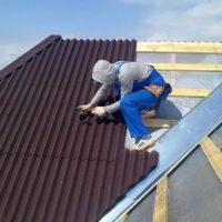 Как крепить ондулин на крышу