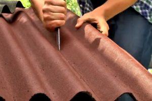 Как крепить ондулин на крышу: технология укладки ондулина на крышу правильно своими руками