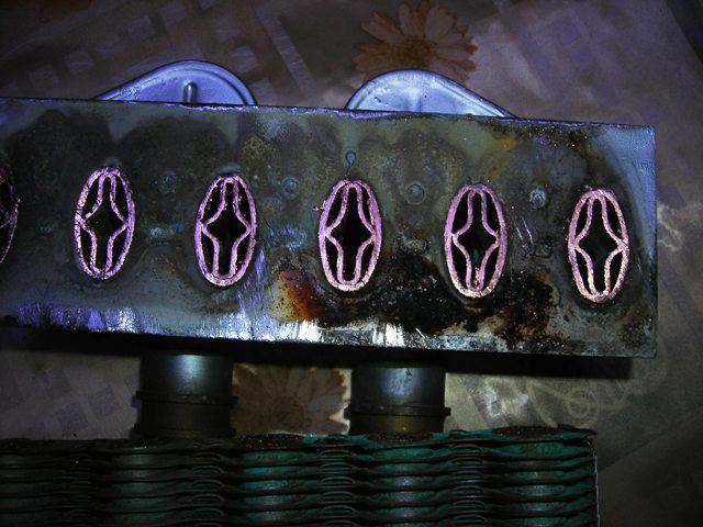 Структура битермического теплообменника