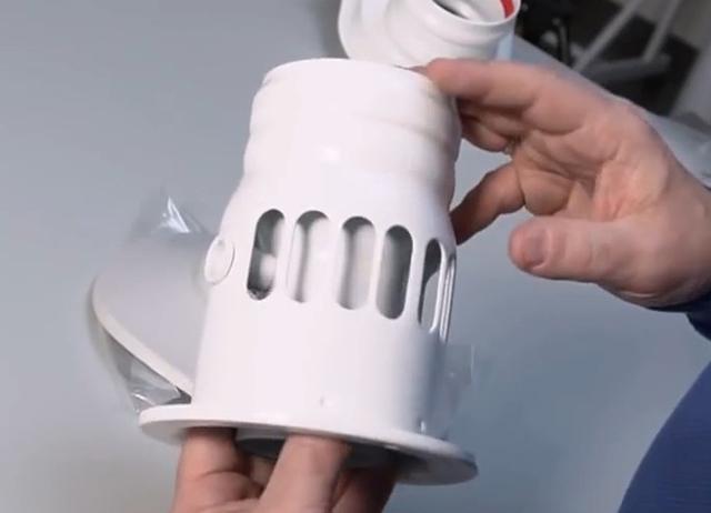 Адаптер для забора воздуха из помещения