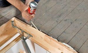 Лестница раскладная на чердак своими руками: пошаговая инструкция для самостоятельного изготовления складной чердачной лестницы с люком