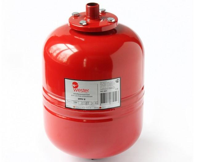 Неправильно подобранный или неисправный мембранный расширительный бак вполне может стать причиной нестабильного, завышенного или заниженного давления в системе отопления
