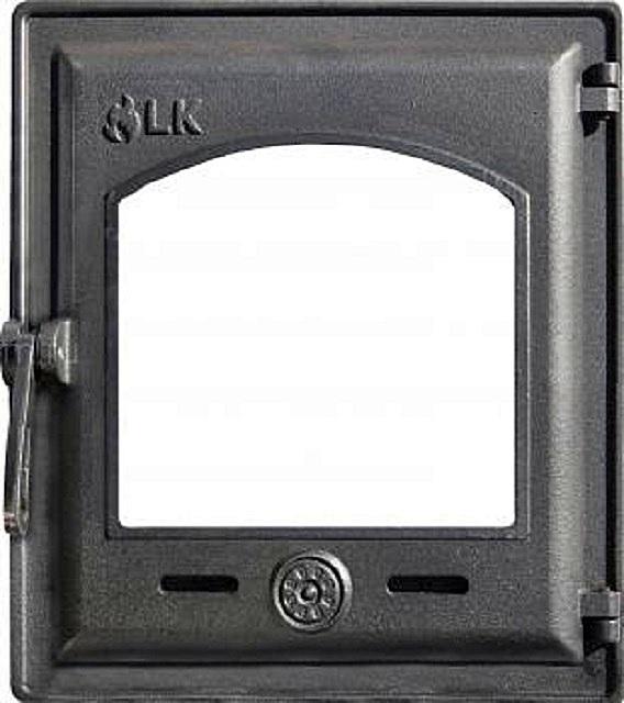 Герметичная дверца со стеклом LK-370