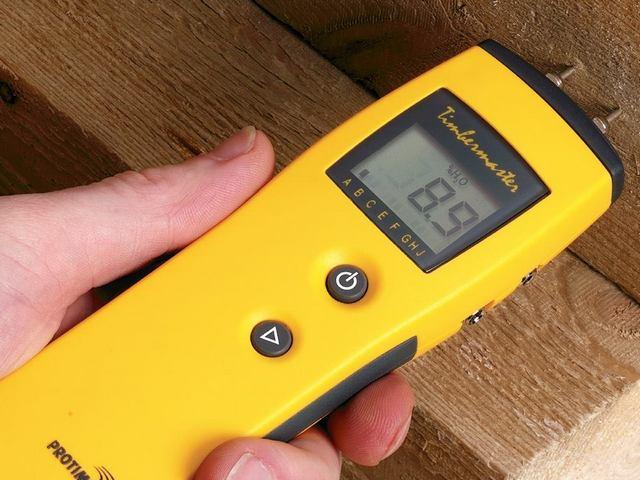 Остаточная влажность приобретаемой древесины имеет первостепенное значение