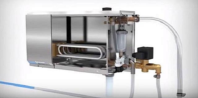Примерное устройство типового парогенератора с нагревателями-ТЭНами