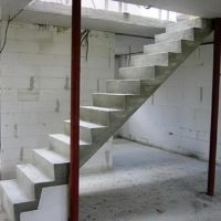 Бетонная лестница своими руками: делаем лестницу второй этаж по инструкции