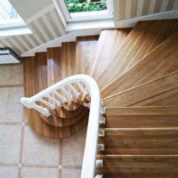 Забежная лестница своими руками: используем схемы и делаем лестницу с забежными ступенями с фото инструкцией