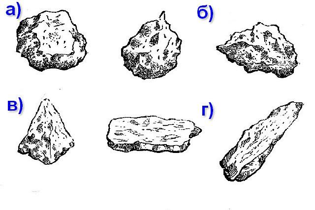 Один из важных параметров щебня – его лещадность. Под этим понятием подразумевается преимущественная форма камней