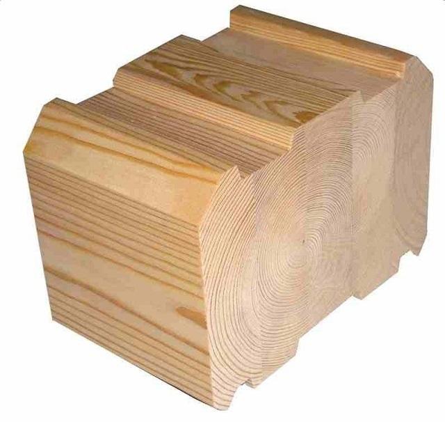 Залог качества материала и его устойчивости к деформациям – правильное расположение ламелей, составляющих клееный брус