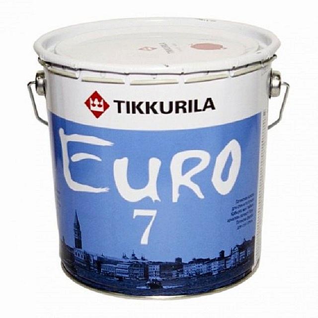 В ассортименте компании — целая линейка латексных красок различного предназначения серии «Euro»