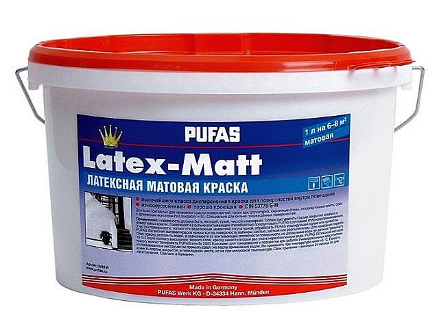 При отделке жилых помещений чаще всего практикуется использование красок, создающих матовые поверхности. Это обычно указывается на упаковке