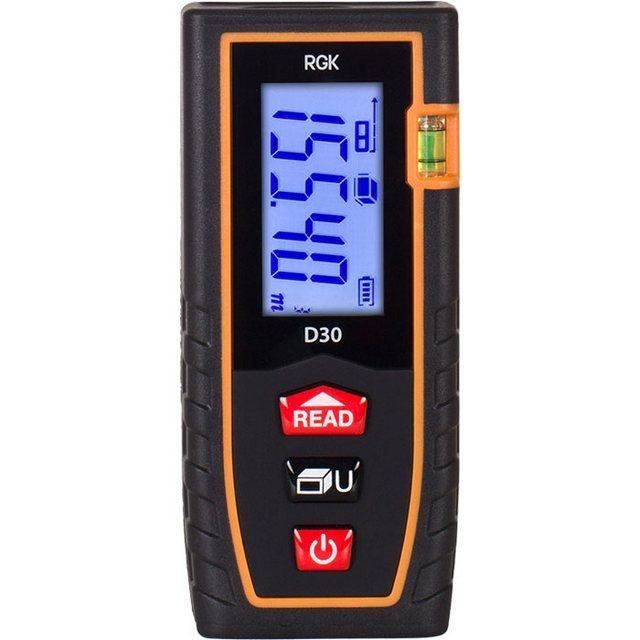Сочетание хорошего качества и невысокой цены – лазерный дальномер «RGK D30»