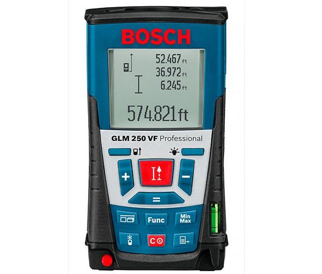 «BOSCH GLM 250VF» — инструмент профессиональных строителей
