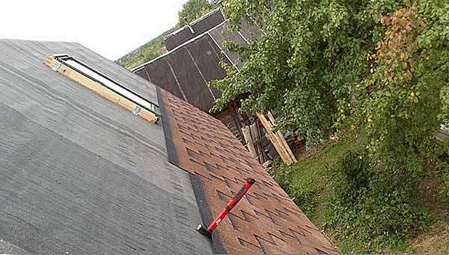 Подкладка под крышу
