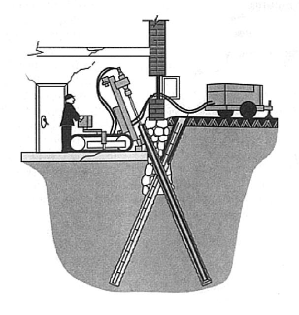 Возможные варианты расположения дополнительный свайных опор фундамента