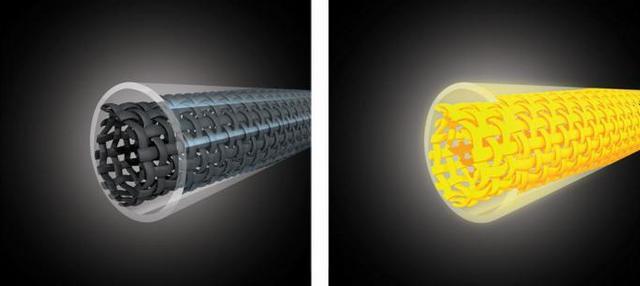 Пропускание электрического тока через проводник из карбоновых нитей, заключенный в вакуумную или заполненную газом (инертным или галогеном) кварцевую трубку, приводит к его разогреву и созданию инфракрасного потока энергии.