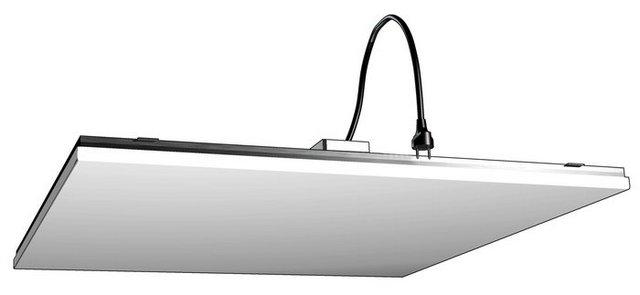 Инфракрасный обогреватель, предназначенный для установки в ячейки подвесной потолочной системы «Armstrong»