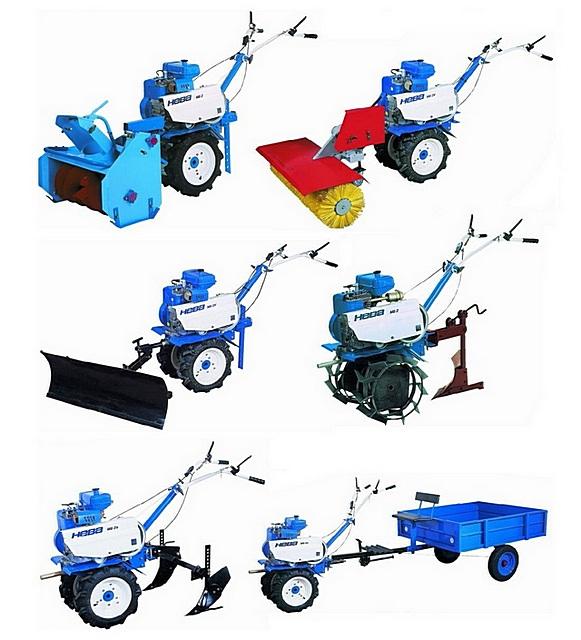 Качественный мотоблок с хорошим комплектом навесного и прицепного оборудования значительно упрощает выполнение трудоемких агротехнических и даже общехозяйственных работ