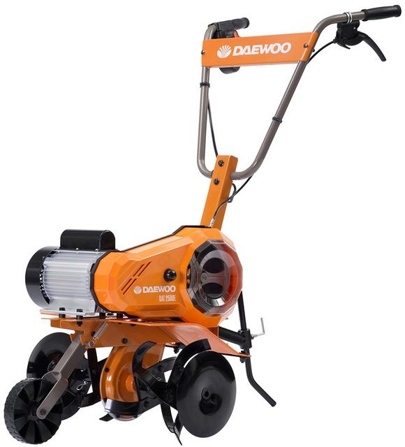 Электрический культиватор «DAEWOO DAT2500E» – станет хорошим помощником для работы, например, в тепличном хозяйстве
