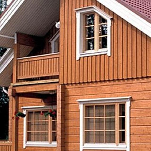 Финские окна «Tiivi» отлично подходят для установки в частных домах в регионах с самыми низкими зимними температурами.