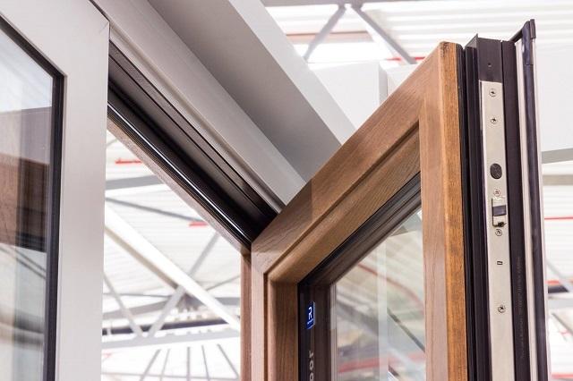 Комбинированное окно бельгийской компании «Reynaers»
