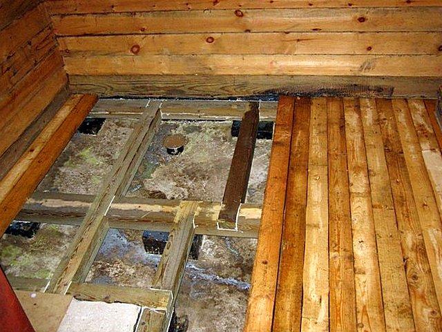Испокон веков в русской традиции было создание деревянных банных полов