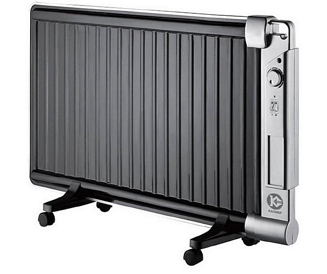 Масляный радиатор в «плоском исполнении»