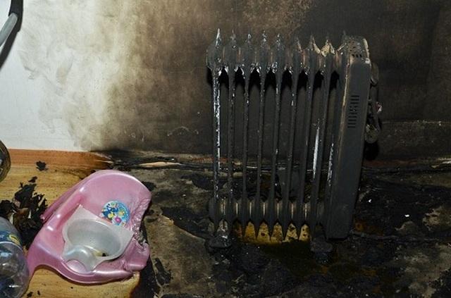 Грубые ошибки в эксплуатации масляного радиатора могут привести и вот к таким последствиям