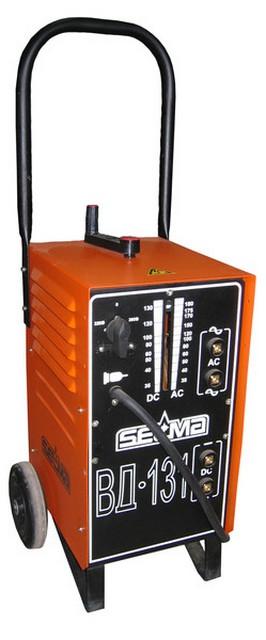Выпрямитель сварочный «Selma ВД-131» — доступны режимы работы как на постоянном, так и на переменном токе