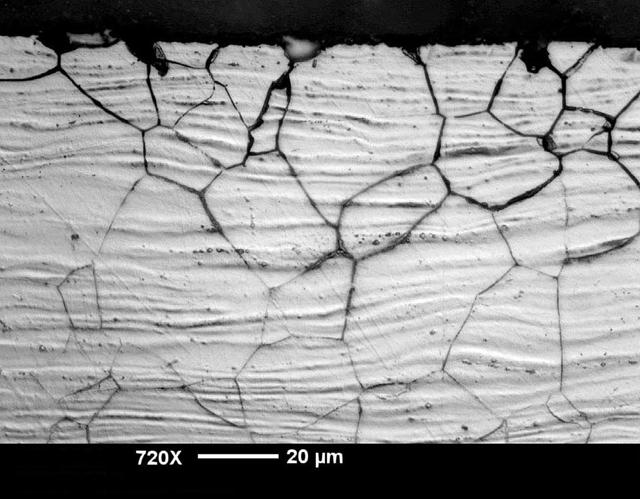 Межкристаллитная коррозия нержавеющей стали
