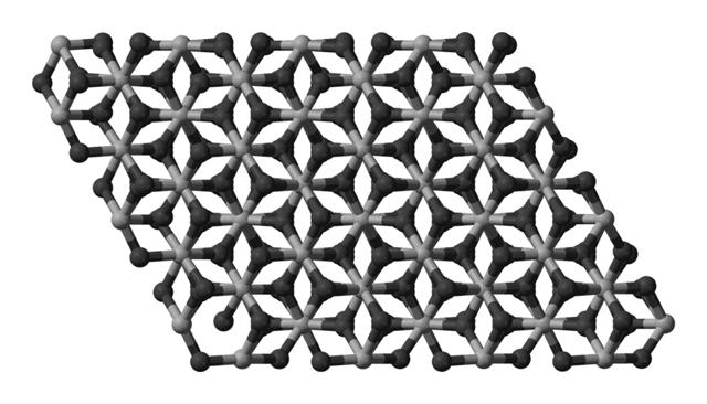 Кристаллическая структура оксида алюминия
