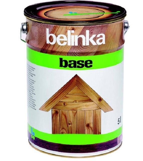 Словенская компания «Belinka» предлагает целый ряд высокоэффективных защитных антисептических средств для древесины. Одно из них — «Belinka Base», для общей базовой обработки деталей.