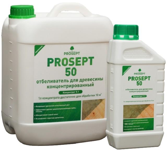 «Просепт 50» — поможет справиться даже с масштабными очагами биологического поражения древесины