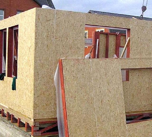 Дома из СИП-панелей возводятся в кратчайшие сроки