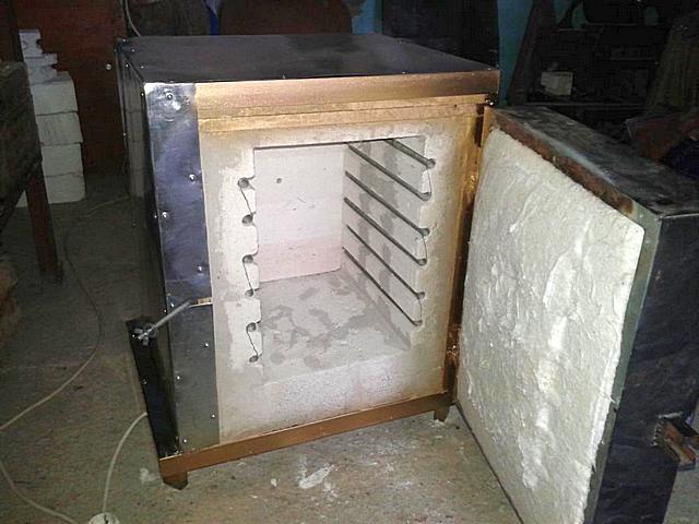 Огнеупорные материалы для муфельных печей