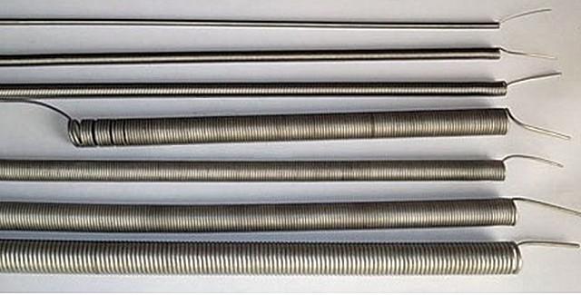 Нагреватели для муфельной электрической печи чаще всего делаются спиральными – навиваются из проволоки с высокими показателями сопротивления и термостойкости.