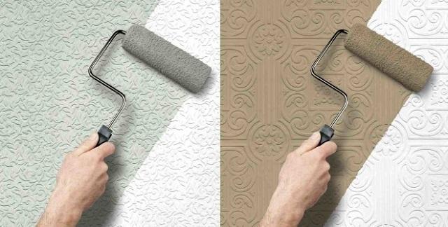 Один из самых популярных в наше время материалов такого предназначения – флизелиновые обои под покраску