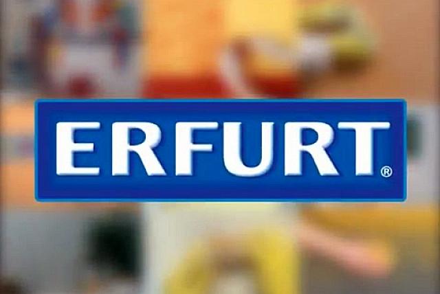 Именитый производитель отделочных материалов, в том числе и бцмажных обоев под покраску – германская компания «Erfurt»