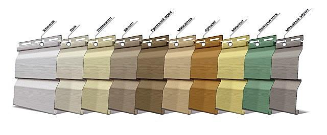 Очень широкий ассортимент моделей и расцветок сайдинга позволит подобрать именно то, что хочется хозяевам балкона