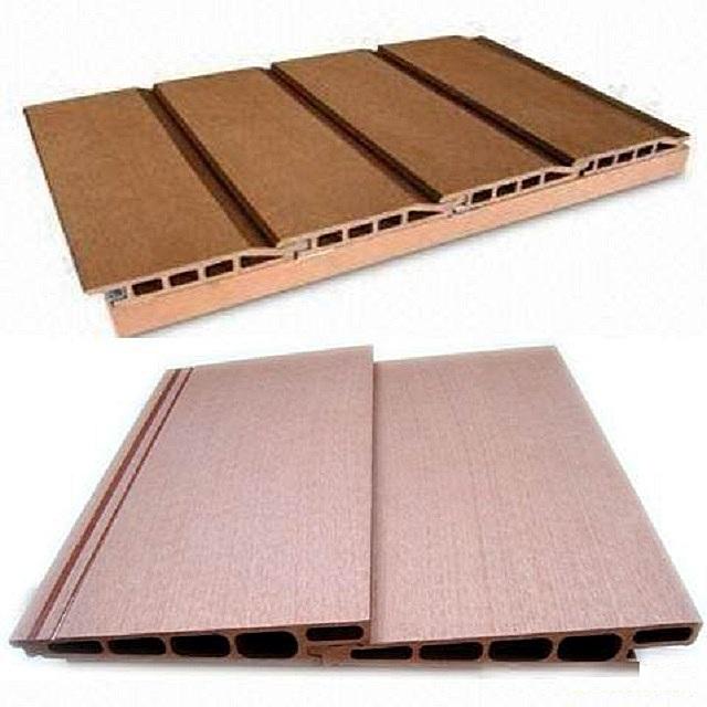 Древесно-целлюлозные сайдинговые панели – для внешней обшивки балконов тоже применяются нечасто