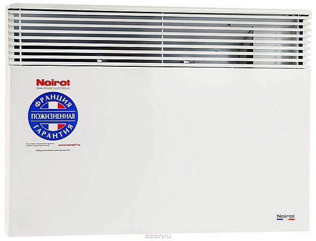 Весьма показательный момент – производитель дает на свои конвекторы «Noirot Spot E-5 1500» пожизненную гарантию!