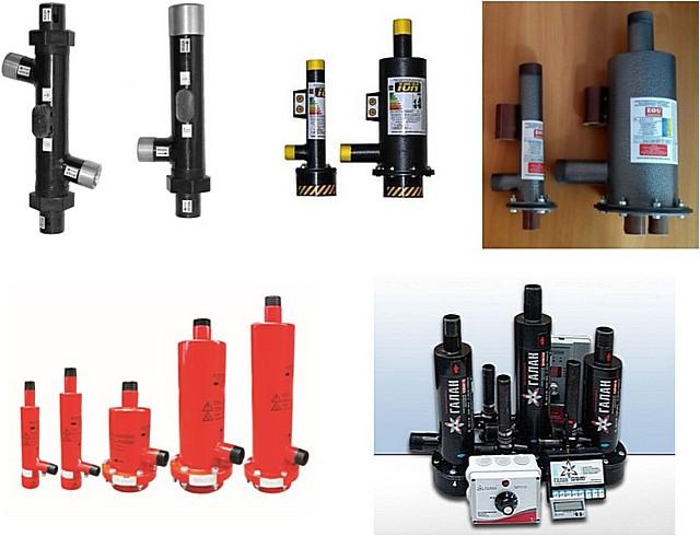 Электродные котлы разных производителей – несложно заметить, что никаких принципиальных отличий в устройстве и компоновке приборов нет.