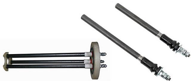 Электрод или блок электродов – деталь съемная, и ее при необходимости можно заменить на новую.