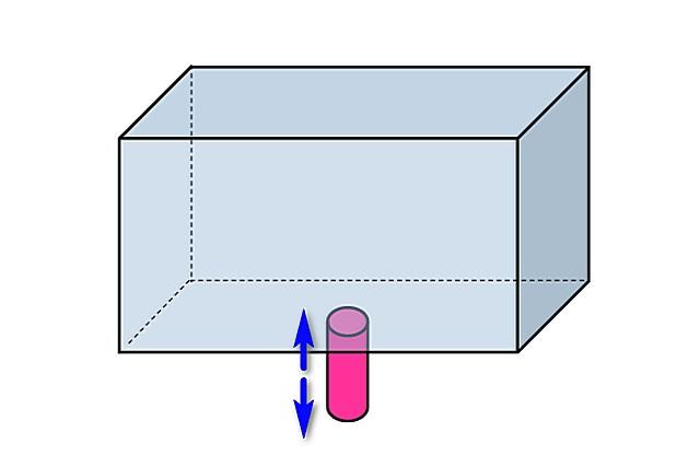 Самая простая схема расширительного открытого бака – никаких «излишеств»